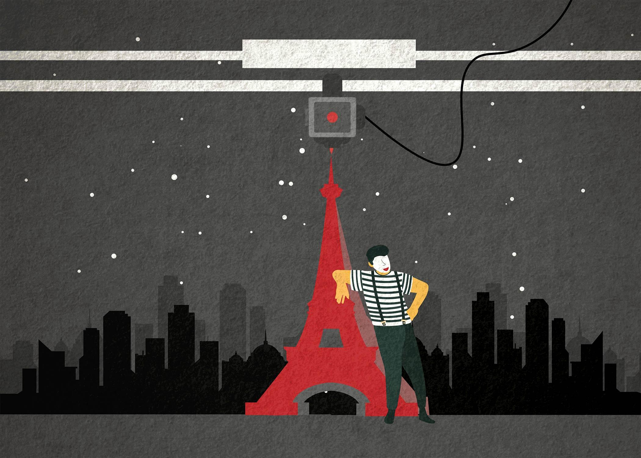 3D printed Eiffel Tower in Paris